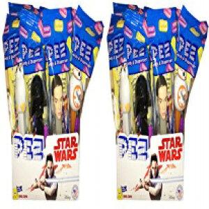 スターウォーズPEZキャンディディスペンサー-24パック Star Wars PEZ Candy Dispensers - Pack of 24