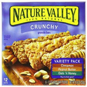 ネイチャーバレー、カリカリグラノーラバーバラエティパック(オーツ 'nダークチョコレート、ピーナッツバター、オーツ' nハニー)、1.49オンス、24バー Nature Valley, Crunchy Granola Bar Variety Pack