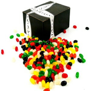 Sweetの各種ゼリービーンズ、ギフトボックスに2ポンド Black Tie Mercantile Sweet's Assorted Jelly Beans, 2 lbs in a Gift Box