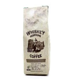 ウイスキーモーニングコーヒー:火で焼いた、ウイスキーを注入した、少量のバッチコーヒー(全豆) Whiskey Morning Coffee: Fire Roasted, Whiskey Infused, Small Batch Coffee (Whole Bean)