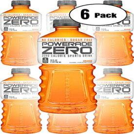 パワーエイドゼロオレンジ、ゼロカロリースポーツドリンク、32オンスボトル(6パック、合計192オンス) Powerade Zero Orange, Zero Calorie Sports Drink, 32oz Bottle (Pack of 6, Total of 192 Oz)