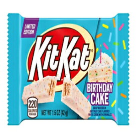 1.5 Ounce (Pack of 4), Birthday Cake Kit Kat Bar White Chocolate Limited Edition 4 Pack 1.5 Oz Bars