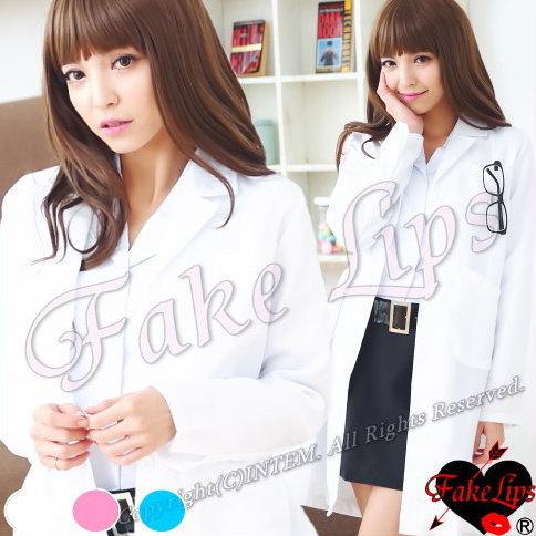 FakeLips コスプレ 女医 ナース 大きいサイズ ナース服 ハロウィン 看護婦 コスチューム 衣装