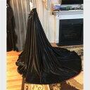 【期間限定!マスクプレゼント中】ロング マント ブラック ワインレッド 130cm 150cm 200cm 新劇 演出 高品質 イベン…