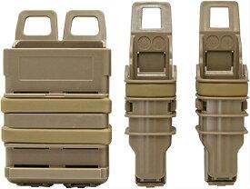 FMA ITWタイプ NEXUS GEN3 5.56mm M4 & ハンドガン ファーストマグポーチ コンボ TAN