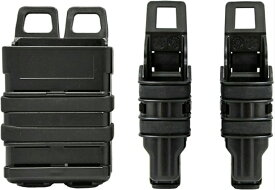 FMA ITWタイプ NEXUS GEN3 5.56mm M4 & ハンドガン ファーストマグポーチ コンボ ブラック