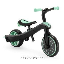 グロッバーGlobberエクスプローラートライク4in1三輪車キッズキックバイク3輪子供変形乗用玩具誕生日ギフトEXPLORERTRIKE