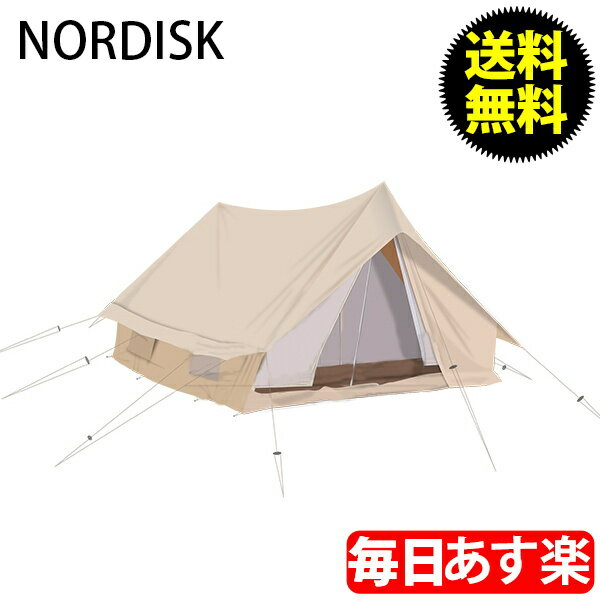 NORDISK ノルディスク Ydun ユドゥン 5.5 ナチュラル 142022 テント キャンプ アウトドア 北欧 [glv15]