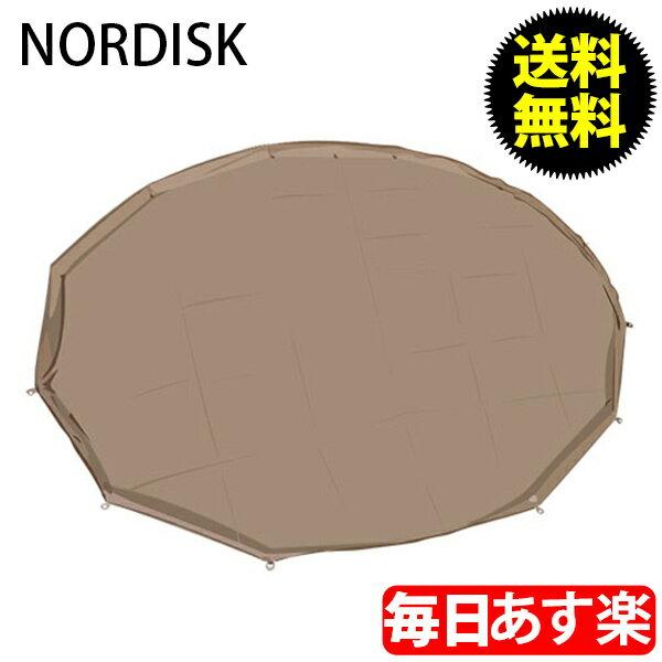 NORDISK ノルディスク アルヘイム12.6用フロアシート(ジップインフロア) ナチュラル 146012 テント キャンプ アウトドア 北欧 [glv15]