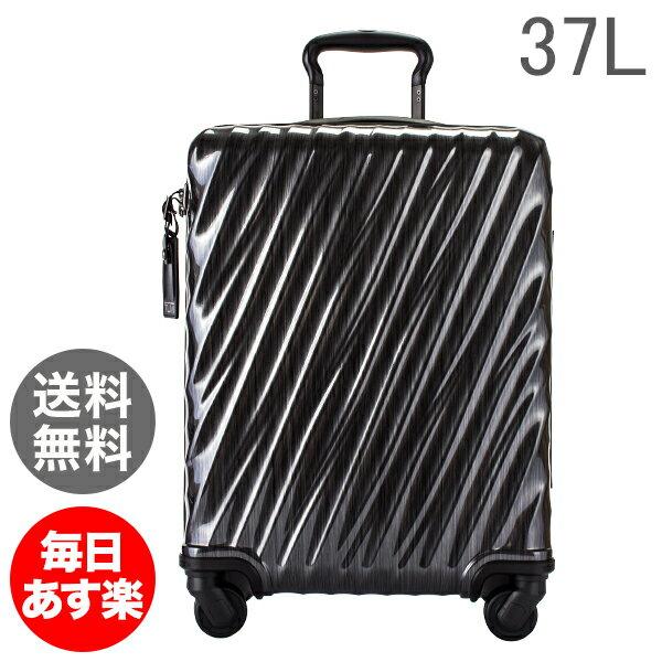 TUMI トゥミ スーツケース 37L インターナショナル・スリム・キャリーオン 0228607D ブラック 19 Degree Polycarbonate International Slim Carry-On Black キャリーケース キャリーバッグ [glv15]