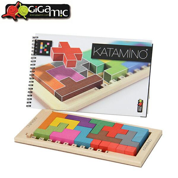 Gigamic ギガミック Katamino カタミノ 木製パズル 脳トレ 知育玩 200102/152501 ボードゲーム [glv15]