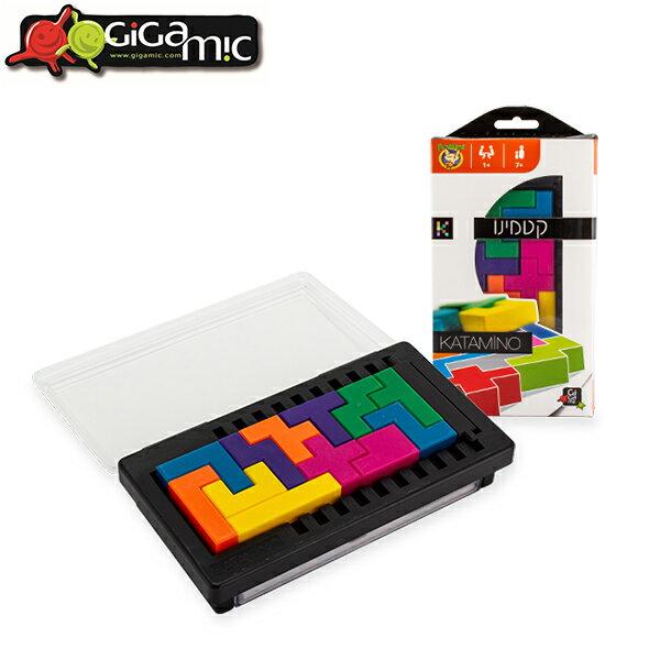ギガミック Gigamic カタミノ ポケット KATAMINO POCKET パズルゲーム ミニサイズ GZKP 3.421271.302049 おもちゃ 知育 玩具 子供 脳トレ ボードゲーム [glv15]