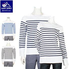[全品最大15%OFFクーポン]SAINT JAMES ナヴァル メンズ レディース 長袖 ボーダー バスクシャツ ボートネックシャツ NAVAL Tシャツ カットソー トップス ナバル [glv15]
