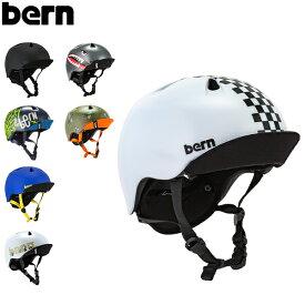 バーン Bern ヘルメット 子供用 ニーノ Nino オールシーズン キッズ ジュニア 男の子 自転車 スノーボード スキー スケートボード BMX スノボー スケボー VJB [glv15] あす楽