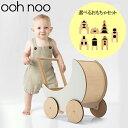 【選べる積み木セット】オーノー ooh noo 手押し車 トイプラム リトルビレッジ ブロック 赤ちゃん おもちゃ 木製 プレ…