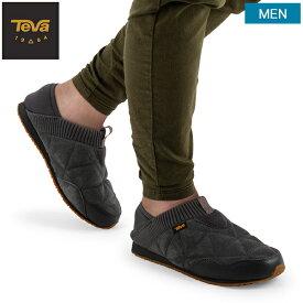 【全品5倍+2点で5%OFF 11/26 23:59迄】テバ TEVA スリッポン メンズ エンバーモック シェアリング M Ember Moc Shearling スニーカー 靴 シューズ 1103239 アウトドア 防寒