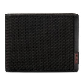 トゥミ TUMI 財布 メンズ 二つ折り財布 小銭入れ付 アルファ グローバルウォレット 0119237DID ブラック ALPHA SLG Tumi Lock ID あす楽