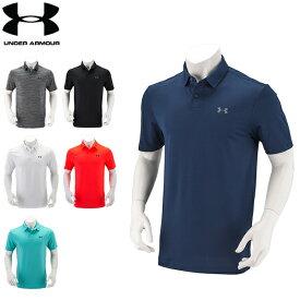 アンダーアーマー Under Armour メンズ ポロシャツ 半袖 ゴルフ Golf パフォーマンスポロ 1342080 ゴルフウェア ポロ 半袖ポロ スポーツ ラッピング対象外 あす楽