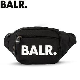 ボーラー BALR ウエストバッグ B10030 ブラック Travel U-Series Waist Pack 鞄 ウエストポーチ ボディバッグ 人気 ユニセックス サッカー あす楽