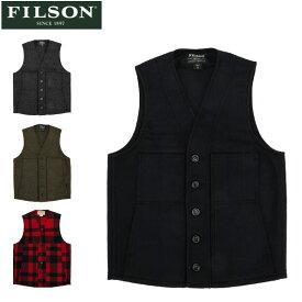 フィルソン FILSON ベスト マッキーノ ウール メンズ MACKINAW WOOL VEST 10055 アメリカ製 ウール アウター インナー あす楽