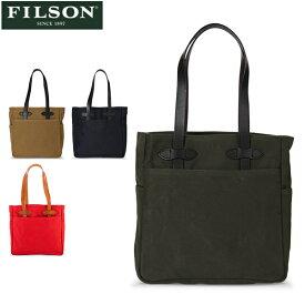 【P5倍 10/26 23:59迄】フィルソン FILSON トートバッグ Tote Bag without zipper キャンバス 70260 肩掛け レザー 手提げ メンズ 革 ハンドバッグ あす楽