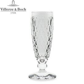 Villeroy & Boch ビレロイ&ボッホ Boston ボストン Champagne glass シャンパングラス clear クリアー 1172990070 あす楽