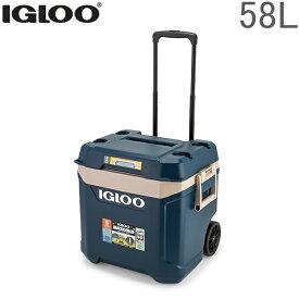イグルー IGLOO クーラーボックス キャスター付き 58L マックスコールド プレミアム 大容量 1183295 Maxcold 62QT アウトドア キャンプ あす楽