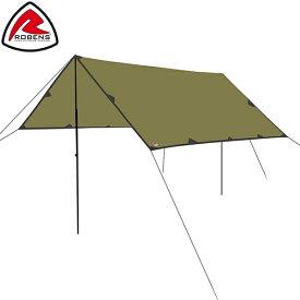 ローベンス Robens トレイル タープ 3 × 3m 130260 テント キャンプ アウトドア 雨よけ 日よけ トレイルシリーズ Tarp Trail Tents あす楽