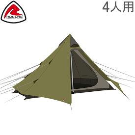 ローベンス Robens テント 4人用 グリーンコーン 4 130253 Green Cone 4 Trail Tents キャンプ アウトドア 野外 ティピー トレイルシリーズ あす楽