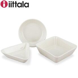イッタラ 皿 ティーマ 12.0cm × 2cm 12.0cm × 3cm 12.5cm × 4.5cm 北欧ブランド インテリア 食器 ミニサービングセット 丸皿 三角皿 四角皿 送料無料