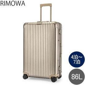 リモワ RIMOWA オリジナル チェックイン L 86L 4輪 スーツケース キャリーケース キャリーバッグ 92573034 Original Check-In L 旧 トパーズ あす楽
