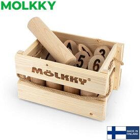 【お1人様1点限り】モルック MOLKKY 玩具 アウトドアスポーツ おもちゃ モルック Molkky Finnish Wooded ゲーム スキットル 木製 外遊び レジャー あす楽