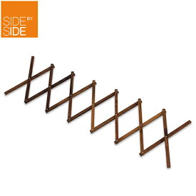 Side by Side サイドバイサイド Extensible Trivet L トリベット鍋敷き L Brown ブラウン 40047-L あす楽