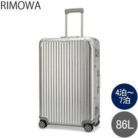 リモワ RIMOWA オリジナル チェックイン L 86L 4輪 スーツケース キャリーケース キャリーバッグ 92573004 Original Check-In L 旧 トパーズ あす楽