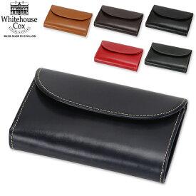 Whitehouse Cox ホワイトハウスコックス 3 Fold Purse CLOSE 14cm × 9.5cm OPEN 14cm × 25cm S7660 財布 キャッシュレス あす楽