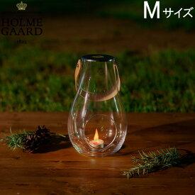 ホルムガード Holmegaard ランタン クリア Mサイズ H25cm Design with Light 4343501 デザイン ウィズ ライト キャンドルホルダー ガラス