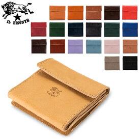 イルビゾンテ Il Bisonte 二つ折り財布 ウォレット C0455 PORTAFOGLIO P 財布 レザー 革 キャッシュレス あす楽