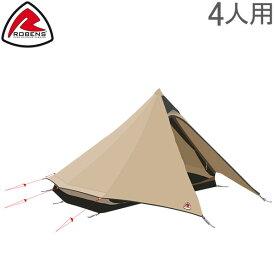 ローベンス Robens テント フェアバンクス 4人用 アウトバック シリーズ 130143 Tents Fairbanks キャンプ アウトドア 大型 ティピー あす楽