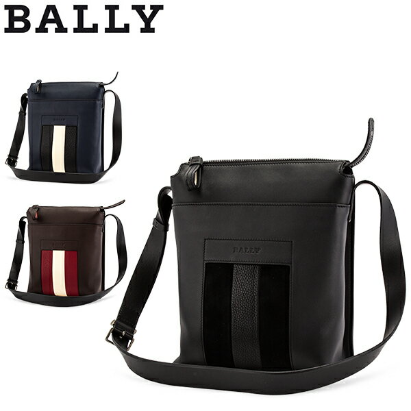 バリー Bally ショルダーバッグ メンズ BAUMAS メッセンジャーバッグ レザー 本革 クロスボディ バッグ 鞄 通勤 旅行 牛革 Crossbody Bag