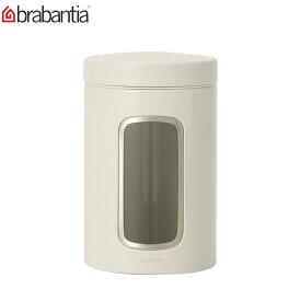 【お盆もあす楽】Brabantia (ブラバンシア) フードストレージ ウィンドウ キャニスター 1.4L Food Storage - Window Canister 1.4Litre (390241.491009) あす楽