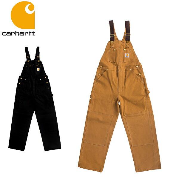 カーハート Carhartt ダック ビブ オーバーオール R01 Duck Bib Overall - Men's コットン つなぎ メンズ サロペット 作業服
