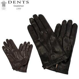 デンツ Dents 手袋 メンズ レザー グローブ Kingston ヘアシープ 羊革 キングストン 革 シープスキン ラム 防寒 上質 5-1513 Gloves あす楽