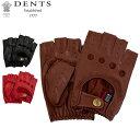デンツ Dents 手袋 カットオフ ドライビング グローブ メンズ Snetterton ヘアシープ 羊革 スネッタートン 革 レザー …