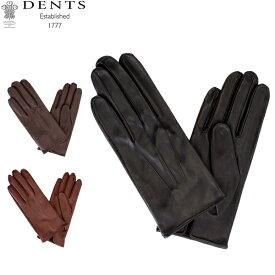 デンツ Dents 手袋 メンズ Milton レザーグローブ シープスキン 上質 革 レザー 羊革 ヘアシープ グローブGloves (M) 15-1026 あす楽