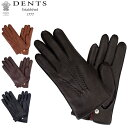デンツ Dents 手袋 メンズ レザー グローブ Windsor ディアスキン 鹿革 ウィンザー革 ファー 防寒 上質 15-1544 Glove…