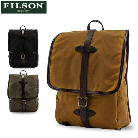 【P5倍 10/26 23:59迄】FILSON フィルソン Tin Cloth Backpack ティンクロスバッグパック 70017 あす楽