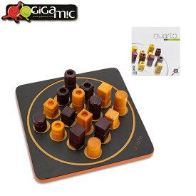 ギガミック Gigamic クアルト ミニ QUARTO MINI ボードゲーム GDQA 3.421271.300441 木製 テーブルゲーム おもちゃ 知育 玩具 子供 脳トレ ゲーム フランス