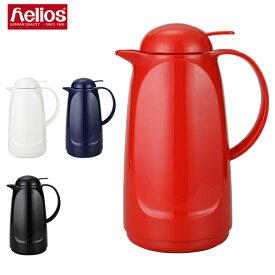 【あす楽】 ヘリオス 魔法瓶 バキュームジャグ リラックスプッシュ 1L ポット 卓上魔法瓶 保温 キッチン 6224 Helios Relax Push【5%還元】