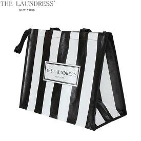 ザ・ランドレス エコバッグ ショッパー 幅45cm x 高37cm x マチ22cm 買い物バッグ トートバッグ ナイロン ジムバッグ お洒落 可愛いSH-01 The Laundress Shopper あす楽