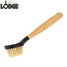 ロッジ Lodge スクラブブラシ 柄付き キッチンブラシ SCRBRSH cleaning and care 10 Inch Scrub Brush 鉄製 鍋 フライパン 長持ち 丈夫 丸型ヘッド 5%還元 あす楽